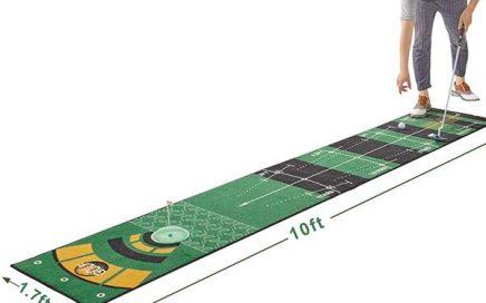 Best Indoor Putting Green Custom Logo Golf Training Carpet Rug Golf Swing Practice Mat At Home