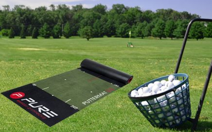Indoor And Outdoor Putting Green Golf Training Mat Custom Logo Perfect Practice Golf Putting Mat