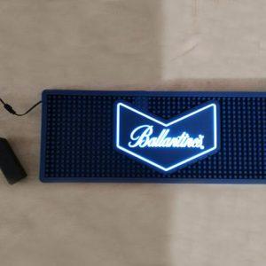 Custom led light bar mat with logo lighten wine bar accessories