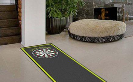 Dart Accessories Rubber Dart Board Floor Mat With Throw Line For Dart Practice