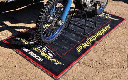 Motorcycle Accessories Oil Fuel Resistant Custom Pro Circuit Racing Motorbike Garage Parking Mats Motocross Rubber Garage Floor Mat