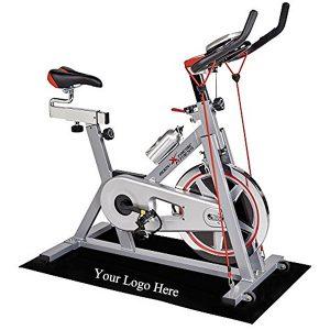 Fitness Exercise Step Aerobic Bike Floor Mat Protective Training Floor Mat