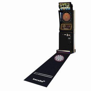 Quality dart boards rubber mat dart games practice floor mat with darts throwing line