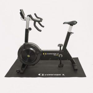 Recumbent bike protective floor mat with printed logo Bike Trainer Mat
