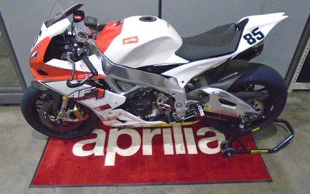 Custom Vehicle Rubber Logo Floor Mats Enduro Racing Aprilia Pit Matt Paddock Mat Motorcycle Garage Mat