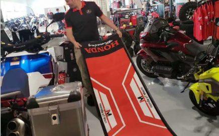 China Factory Oil And Gasoline Resistantance Garage Floor Honda Dirt Bike Mat